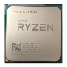 AMD-procesador de CPU AMD Ryzen 5 1500X R5 1500X 3,5 GHz Quad-Core Eight-Core L3 = 16M 65W YD150XBBM4GAE Socket AM4