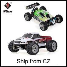 WLtoys – voiture de course électrique RC A959B 1/18, 70 Km/h, grande vitesse, moteur brossé 540, 4WD, télécommande tout-terrain, jouets RTR