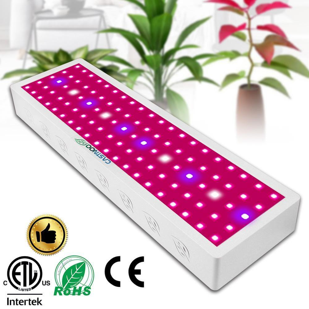 CASTNOO 1000W LED Grow Light Panel Hydroponic Plant Growing Full Spectrum Hydroponic LEDs Grow Light Self-Cooling Flower Lamp(China)