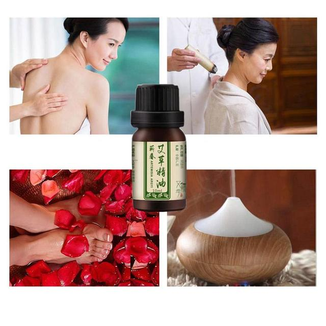 Artemisia Essential Oil Relieves Tiredness Headaches Massage For Body Relax Slimming Creams Anti Cellulite Fat Burning Gel 10ml 5