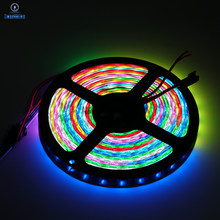 WS2815 DC12V Led Strip Tape (WS2812B/WS2813) SMD 5050 IP30/65/67 Addressable Dual Signal RGB Dream Color Smart Led Strip Light