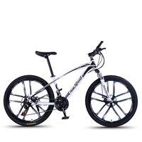 Dez faca uma roda bicicleta de montanha fora da estrada mountain bike freio a disco duplo juventude masculino e feminino sudent carro adulto