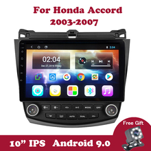 цена на Android 9.0 Car Stereo Radio GPS Navigation Player For Honda Accord 7 CM UC CL 2003-2007 Car android Multimedia Player WIFI DVD