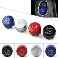 Przycisk uruchamiający/wyłączający silnik samochodu przełącznik przycisk dla BMW F30 F10 F34 F15 F25 F48 X1 X3 X4 X5 X6 1 2 3 4 5 6 7 serii w on/Off pokrywa wymienić Cap