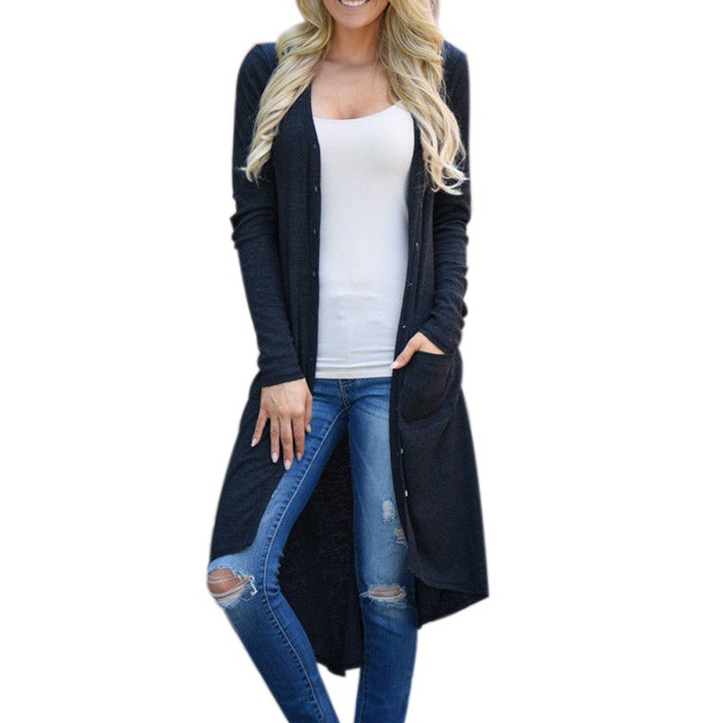 New sweater women Long Sleeve Solid Patchwork Cardigan Open Front Jacket Coat blusas femininas sueter mujer invierno 2020
