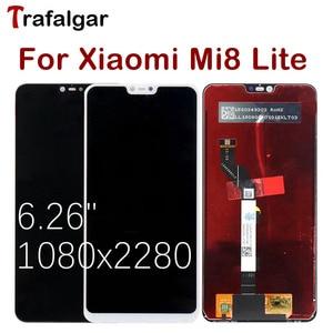 Image 3 - טרפלגר תצוגה עבור Xiaomi Mi 8 לייט LCD תצוגת Mi8 לייט מגע מסך עבור Xiaomi Mi 8 תצוגת לייט עם מסגרת מסך להחליף
