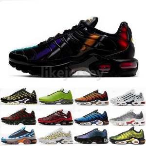 Chaussure Homme Running Shoes Sport-Sneaker Tn Plus Sunburst Tns-Trainers Reflective
