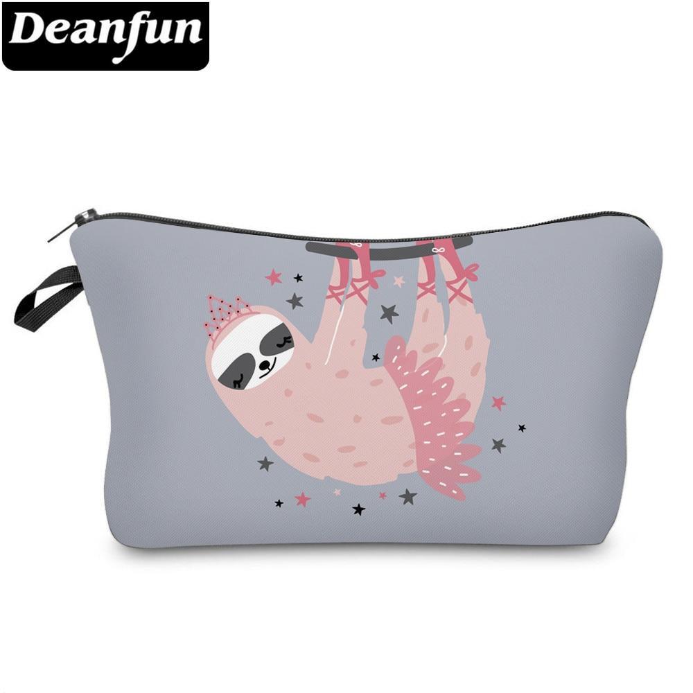 Deanfun Printing Sloth Cosmetic Bag Star Princess Makeup BagWaterproof Organizer 52012