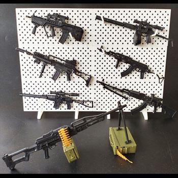 1 6 Model pistoletu 4D 4 Generacji złożyć plastikowy Model na 12 cali figurki broń Minigun Terminator Gundam Model broń tanie i dobre opinie GRAPMAN Z tworzywa sztucznego Other need to assembly Film i telewizja 6 lat 4th Generation Gun Unisex Firearms RPK-74 AK47 9A-91 As Var M240 KSK G36 Tar-21 PKP
