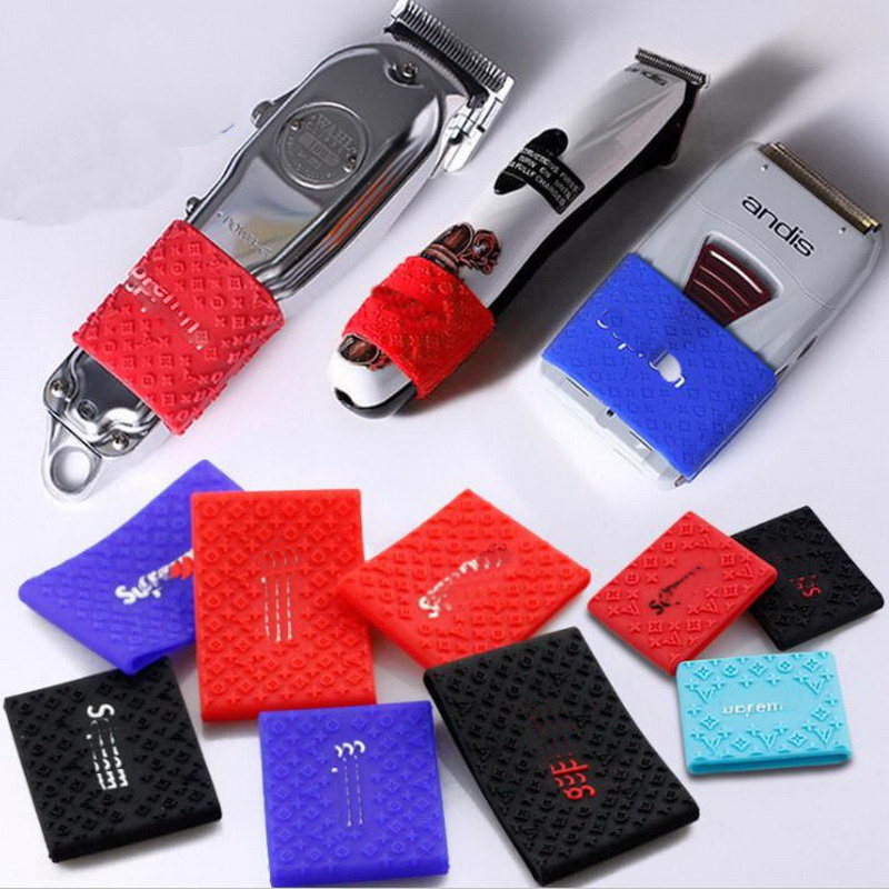 Trimmer Grip New Push-slip Scissors Anti-slip Ring Widened Fader Shock Absorber Set Hair Clipper Silicone Decorative Ring