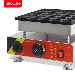 Image 4 - XEOLEO 25 delik gözleme makinesi 800W Dorayaki maker yapışmaz Poffertjes makinesi Mini Dorayaki izgara Mini kek üreticisi