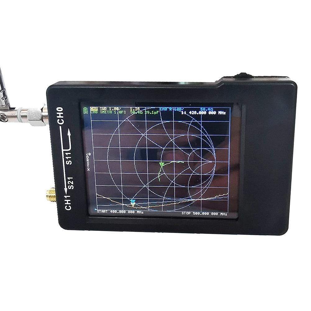 NanoVNA H векторный сетевой анализатор цифровой сенсорный экран коротковолновой MF HF VHF UHF антенный анализатор 50 кГц 900 МГц стоящая волна|Анализаторы спектра|   | АлиЭкспресс