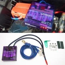 2019 Universal Car Voltage Stabilizer Purple PIVOT MEGA RAIZIN Universal Car Fuel Saver Voltage Stabilizer Regulator