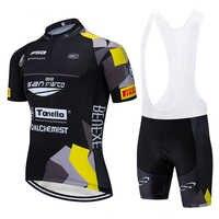 Nouveau noir SAN MARC cyclisme équipe maillot 20D vélo shorts Ropa Ciclismo hommes été séchage rapide pro vélo maillot bas usure