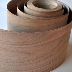 Американский грецкий орех (C.C) деревянные облицовочные полы DIY мебель натуральный материал стул для спальни Таблица Размер 250x20 см часовая об...