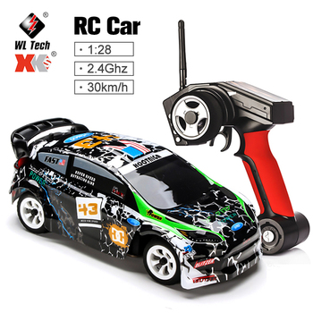 Wltoys K989 1/28 2.4G 4WD Car Brushed RC Remote Control Car Racing Car RTR Drift Alloy Off Road Car Crawler Toys Models 1