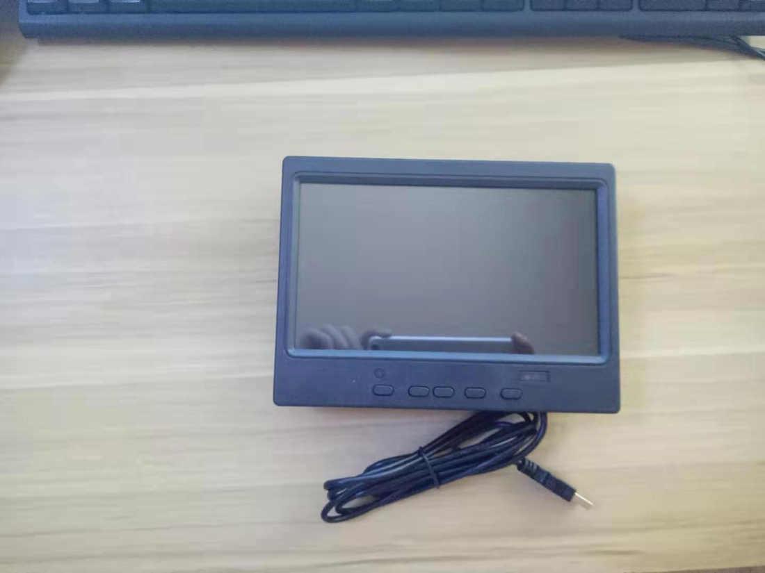 Monitor de pantalla táctil HDMI de 7 pulgadas para coche, monitor lcd pequeño de 1024x600, monitor portátil full hd para retrovisor de coche