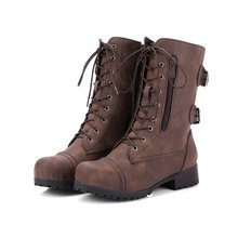 Fashion Winter Boots Women  Shoes Ankle Booties Genuine Leather Womens Female