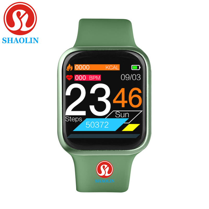 <font><b>38mm</b></font> Waterproof Smart Watch Heart-Rate Monitor Message-Reminder Fitness-Tracker 5 SmartWatch Men for Apple Watch Android <font><b>iwo</b></font> <font><b>12</b></font> image