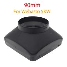 Couvercle de ventilation à trou unique, 90mm, 5kw, pour voiture, camion, pièces de chauffage pour stationnement, pour Webasto eberzaecher