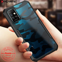 Rzants Voor Infinix Note 8i Infinix Note 8 Case Hard [Camouflage Kever] Shockproof Slim Crystal Clear Cover Funda behuizing
