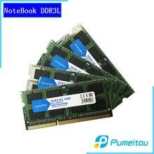 Pumeitou AMD Intel RAM DDR3 DDR3L 4GB 8GB 1333 1600MHz dizüstü Memoria dizüstü bellek 204pin 1.35V yeni RAMs
