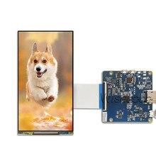 Wisecoco 6 אינץ 2K TFT LCD מסך LS060R1SX02 תצוגת 1440x2560 עם MIPI לוח עבור vr וידאו DIY מקרן 3D מדפסת פנל