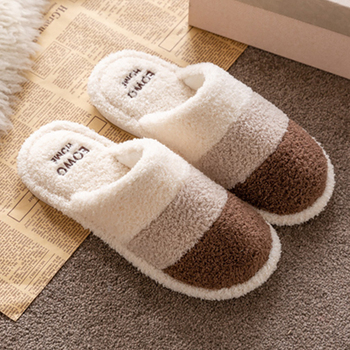 Warm Winter Slippers Women Suede Plush Home women Mixed Colors Indoor Comfy Fashion Bedroom Female Shoes