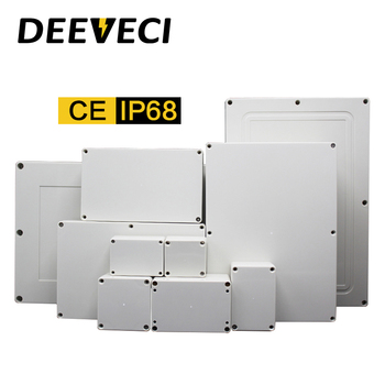 Outdoor Waterproof Enclosure Plastic Box Electronic Project Instrument Case Electrical Project Box Junction Box Housing aluminum housing project box case heat dissipation shell housing 32x82x110mm enclosure box