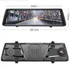 Anstar 10 4G Auto DVR HD 1080P WiFi Android Video Recorder GPS Navigation ADAS Dual Objektiv Dash cam Auto Rückspiegel Kamera - 6