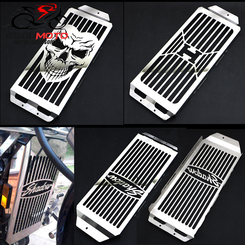 Motorcycle Radiator Cover Grille Protector for HONDA Shadow Aero VT750 2004-2013