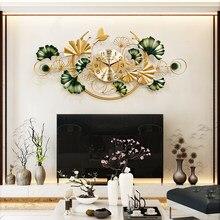Luxus Chinesische Wanduhr Große Wohnzimmer Metall Wanduhr Schweigen Geschenk Idee Moderne Design Uhr Home Dekoration DD60WC