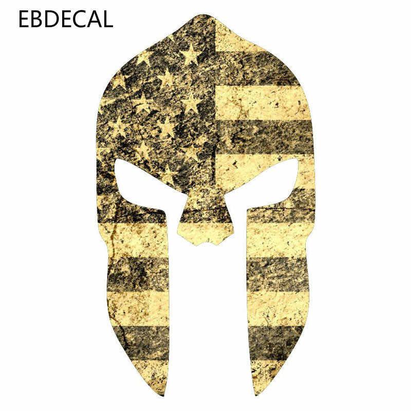 EBdecal SPARTAN สำหรับรถยนต์/กันชน/หน้าต่าง/ผนังรูปลอกสติ๊กเกอร์สติ๊กเกอร์ตกแต่ง DIY CT10488
