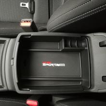 1 sztuk zestaw pp główny schowek w podłokietniku w samochodzie Box pojemnik do przechowywania tacy dla Kia wszystkie nowe Sportage QL KX5 2016 2017 2018 2019 2020 w tanie tanio CN (pochodzenie) Schowek podłokietnik XJ84