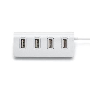 Светодиодный высокоскоростной адаптер с 4 портами USB 3,0 USB 2,0 для ПК и ноутбука