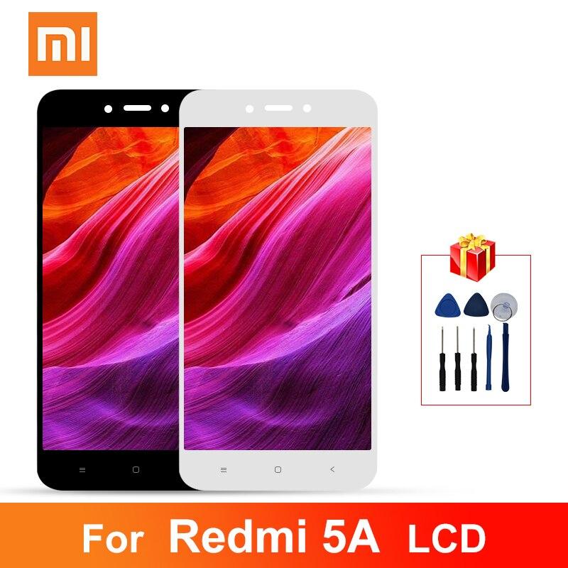 ЖК-дисплей 5,0 дюйма для Xiaomi Redmi 5A, дигитайзер сенсорного экрана в сборе, запасные части с рамкой для Redmi 5A, дисплей