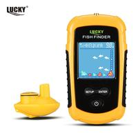 Russian Manual! LUCKY FF718 Fish Finder Portable Sonar Wired LCD Fish depth Finder Alarm 100M Electronic Fishing Tackle|lucky ff718|fishing depth finder|fish finder portable -
