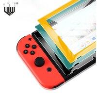 Protector de pantalla de vidrio templado para Nintendo Switch, accesorios de vidrio, película de pantalla