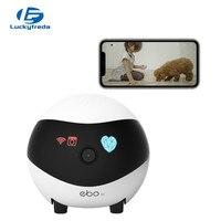 EBO SE-Robot de vigilancia inteligente con WiFi, Monitor familiar, cámara de seguridad, Audio, 1080P, HD, recarga automática, detección de crucero
