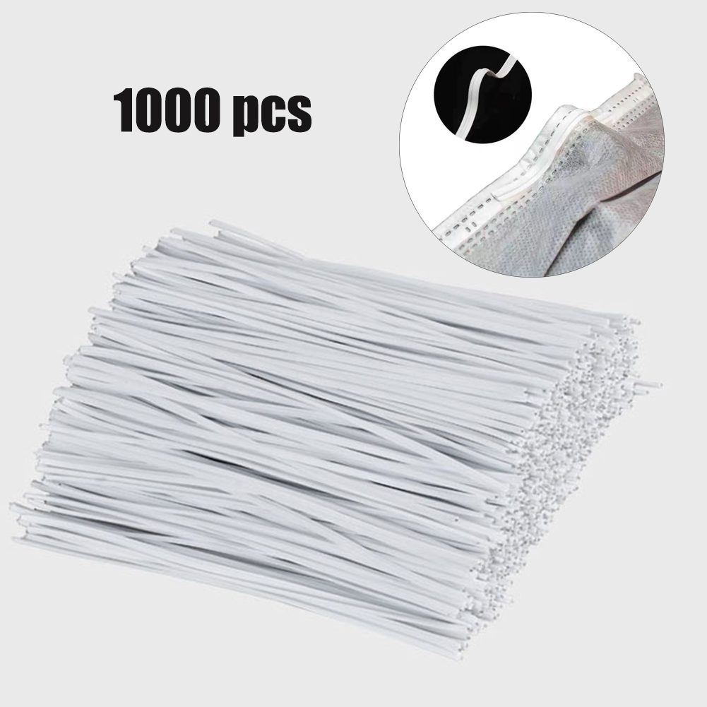 1000pcs Diy Mask Rope Face Nose Adjuster Nose Bridge Nose Clips