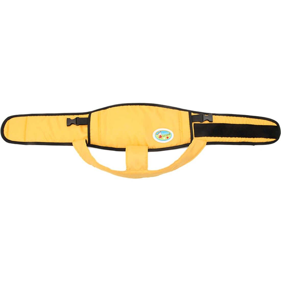 Cinturón de arnés de silla de comedor para bebé cinturón fijo portátil de seguridad para almuerzo de bebé Silla de viaje-naranja claro/luz /Rosa/azul/blanco
