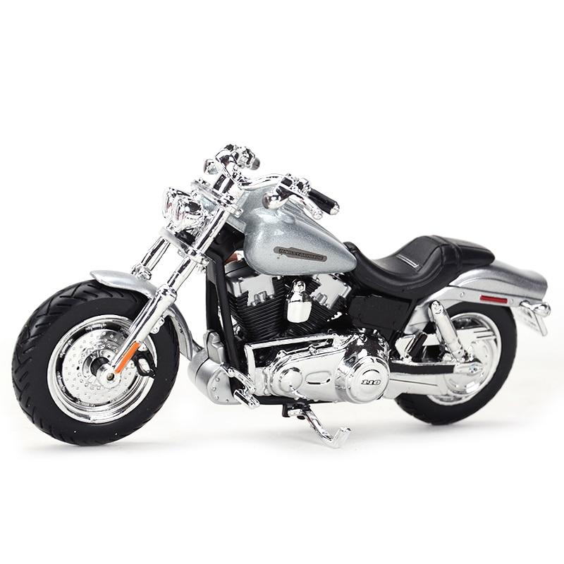 Maisto 1:18 2009 FXDFSE CVO Fat Bob Diecast Alloy Motorcycle Model Toy