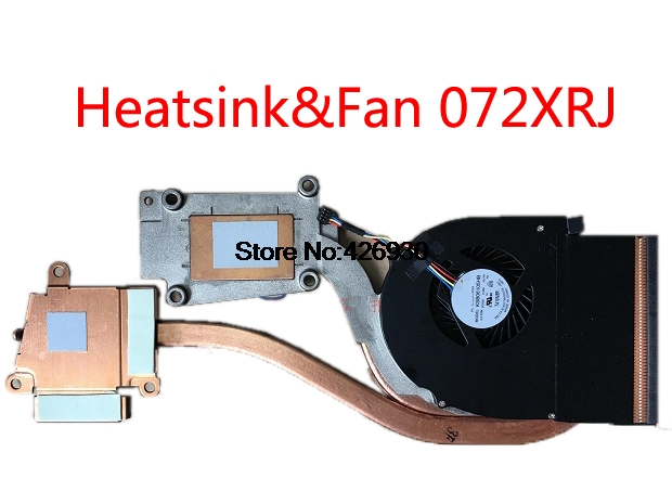 Радиатор и вентилятор для ноутбука DELL Latitude E6540 P29F AT0VI002ZSL AT0VI002ZCL 072XRJ 72XRJ