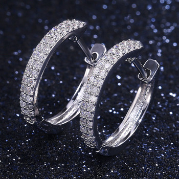 Modyle Hoop earring for night bar party Women Circle Earrings Micro setting Cubic Zirconia crystal bijoux.jpg 350x350 - Modyle Hoop earring for night bar party Women Circle Earrings Micro setting Cubic Zirconia crystal bijoux Jewelry