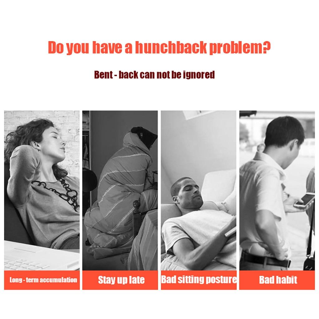 SAGACE New Posture Corrector Spine Back Shoulder Support Corrector Band Adjustable Brace Correction Humpback Pain Relief safe