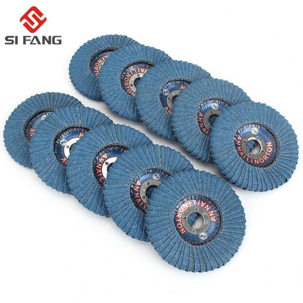 Zirconia Alumina,Grit40 Radial Shape Round Hole Anncus 5Pcs 4x7//8 Flap Disc Abrasive Sanding Wheels