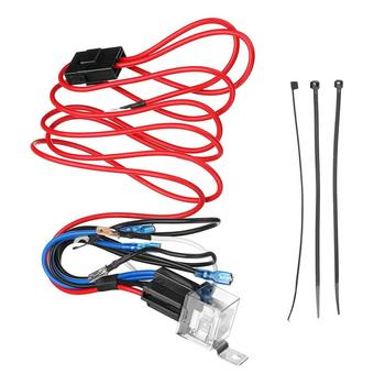 New High Quality 12V Horn Wiring Harness Relay Kit For Car Truck Grille Mount Blast Tone Horns Tools vehicle1 set led light 1 to 3 wiring harness relay fuse kit 80a 12v for 12v car off road wiring harness kit loom light bar