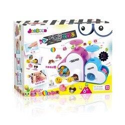 Echtes Produkt Jane Dynamische Klicken Slicer Kreative-Pädagogisches Handgemachte Spielzeug Kinder DIY Kreative Gummi Perlen Armband