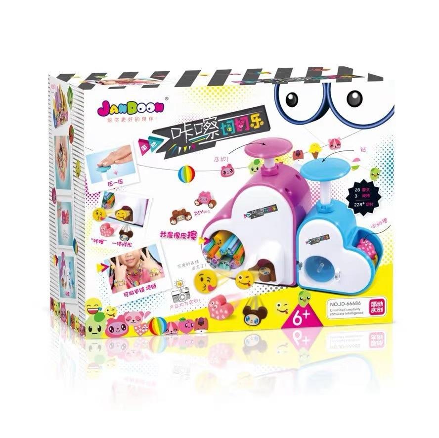 Genuine Product Jane Dynamic Click Slicer Creative-Educational Handmade Toy Children DIY Creative Rubber Beading Bracelet