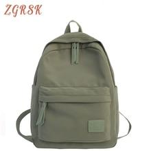 Female Nylon Backpack Bagpack Women School Backpacks Bags For Teenage Girls Back Pack Ladies Student Backpack Schoolbag все цены